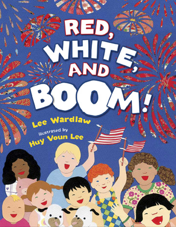 red white boom cover